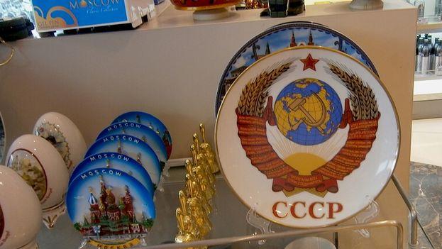 Tienda de recuerdos de Moscú. (14ymedio)