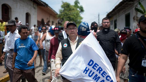 Álvaro Leiva, secretario ejecutivo de la Asociación Nicaragüense Pro de los Derechos Humanos. (Carlos Herrera/Niú)