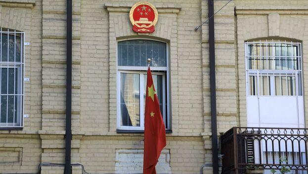 Embajada de China en Lituania. (EFE)