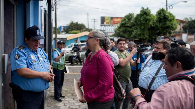 """La Policía se niega a autorizar las marchas de los grupos que considera """"terroristas"""". (Carlos Herrera/Niú)"""