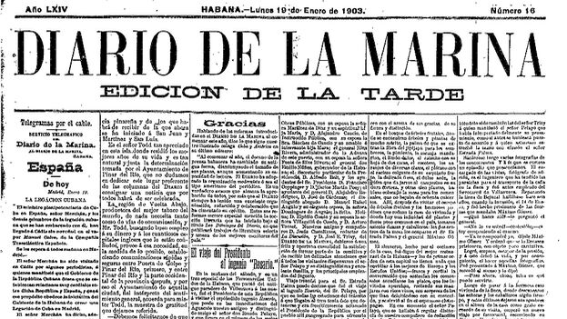 Un militar cubano reprochó a los sandinistas que no hubieran cerrado prensa como lo hicieron ellos con el 'Diario de la Marina' en 1960.