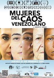 Cartel de Mujeres del caos venezolano, de Margarita Cadenas