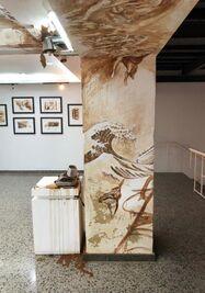La exposición Coffee Time de Luis Enrique Camejo Vento estará en exhibición hasta el 30 de enero de 2021. (Radio Enciclopedia)