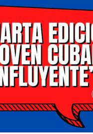 """Cuarta edición del reconocimiento """"Joven cubano influyente"""". (Aulas Abiertas)"""