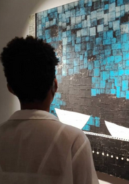 """""""Homenaje"""", exposición del pintor Roberto Diago. (Galería Villa Manuela)"""