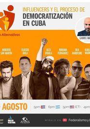 Influencers y el proceso de democratización en Cuba. (Facebook)