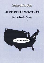Presentación de la novela 'Al pie de las montañas' de Luis de la Paz. (Facebook)
