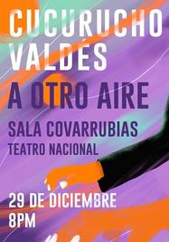 'A otro aire', concierto de Cucurucho Valdés. (Cortesía)