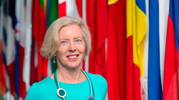 La directora ejecutiva de la Agencia Europea del Medicamento, Emer Cooke. (EFE/EMA)