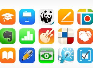 'Apps' en un iPad. (APPLE)