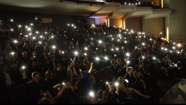 El público durante el Buffer Festival, calificado como el primer festival mundial de vídeos de YouTube. (Twitter)