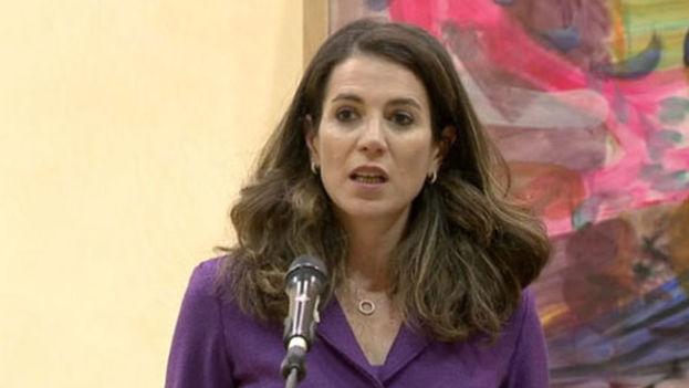 María Cristina Russo, directora de Cooperación Internacional de la Comisión Europea. (CE)