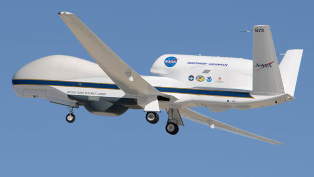Dron de la NASA. (CC)