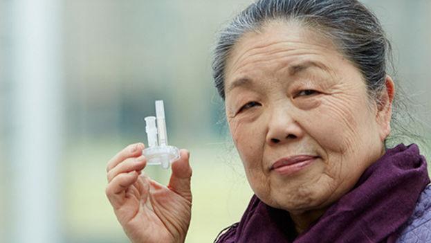 La innovación desarrollada por Helen Lee permite detectar en minutos el virus en la sangre y no necesita refrigeración ni personal especializado. (EPO)