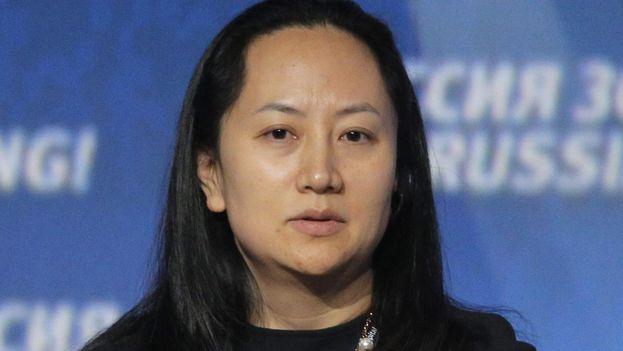 La directora financiera e hija del fundador de Huawei, Meng Wanzhou, fue detenida en Canadá. (EFE)