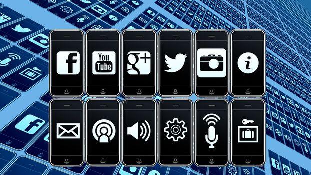 Iconos de 'app' para móvil. (CC)
