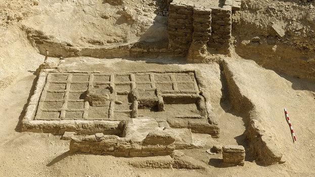 Jardín funerario descubierto por el equipo de investigación del CSIC. (©CSIC Comunicación)