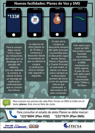 Nuevos planes anunciados por Etecsa este enero. (Empresa de Telecomunicaciones de Cuba)