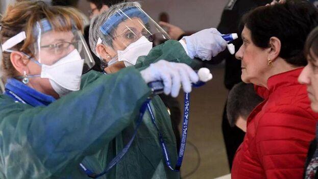 """""""La OMS estima que el COVID-19 puede ser caracterizado como una pandemia"""", declaró el director general de la OMS, Tedros Adhanom Ghebreyesus"""