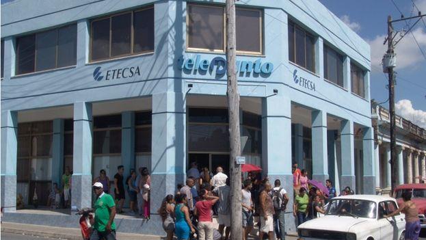 Las oficinas de Etecsa en Pinar del Río