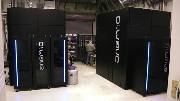 Ordenador cuántico 'D-Wave 2X', de D-Wave Systems. (youtube.com)