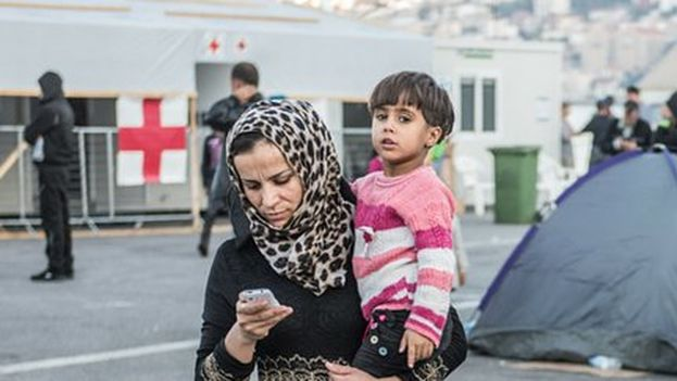 Google respalda el Proyecto Reconnect que NetHope ha lanzado para ayudar a las ONG que trabajan con refugiados en Europa. (@NetHope_org)