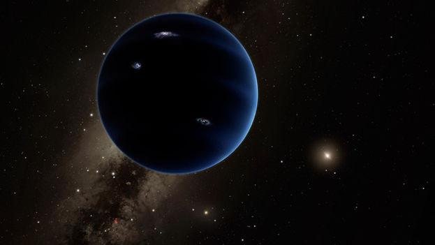 Representación artística del nuevo planeta. (Caltech/R. Hurt/IPAC)