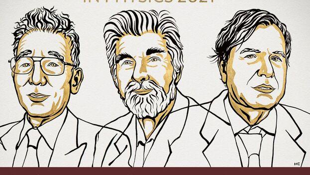 """Syukuro Manabe, Klaus Hasselmann y Giorgio Parisi han contribuido a que """"conozcamos mejor las propiedades y la evolución de los sistemas físicos complejos"""". (Nobel Prize)"""