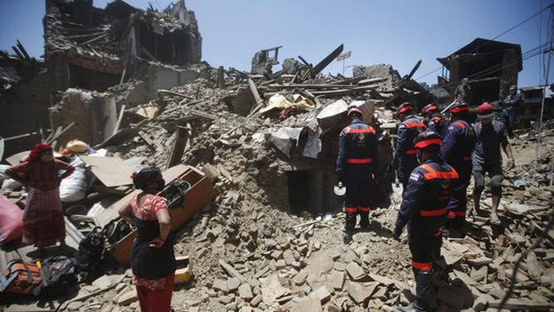 Terremoto de Nepal en 2015. (EFE)