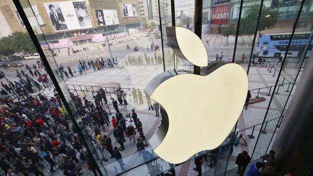 Tienda de Apple. (EFE)