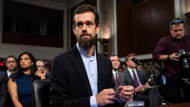 El director de Twitter, Jack Dorsey, tuvo que declarar en septiembre pasado ante el Senado de Estados Unidos. (EFE)