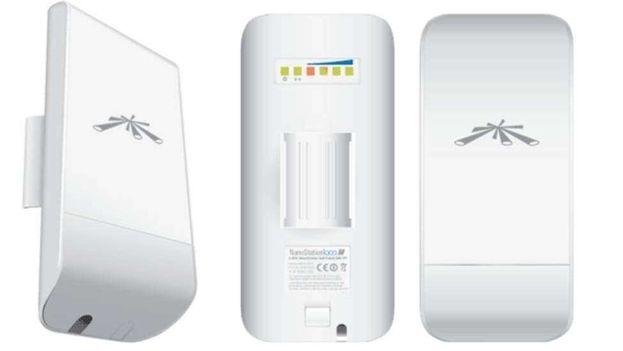 Las Ubiquiti NanoStation M2 amplifican la señal de una red wifi y se utilizan en Cuba para llevar internet a los hogares. (bionic)