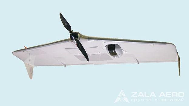 Uno de los drones de ZALA Aero Group, cuyo socio mayoritario es Kaláshnikov. (ZALA Aero)