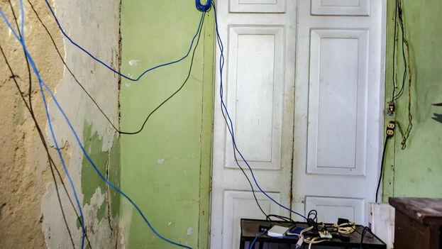 Los administradores de estas redes inalámbricas han mantenido por años su funcionamiento en la clandestinidad. (David Himbert)