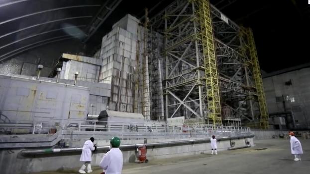 Este 26 de abril se cumple el 35º aniversario de la tragedia de Chernóbil. (EFE/EPA/Oleg Petrasyuk)