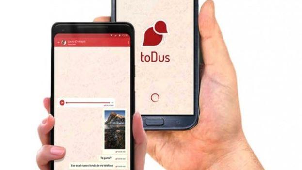 La última aplicación de factura nacional estrenada ha sido bautizada como toDus y se presenta como un WhatsApp de factura nacional.