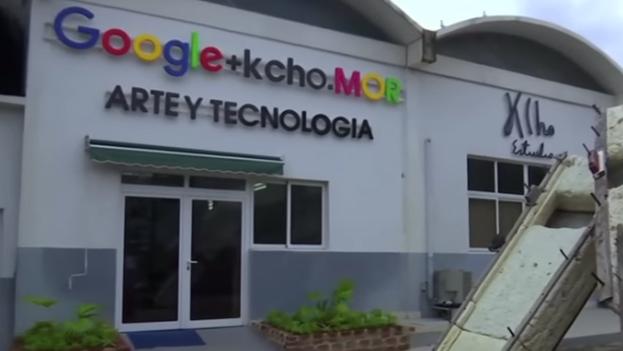 El nuevo centro Google + Kcho.Mor de La Habana. (Fotograma)