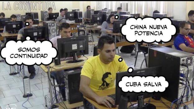 La oposición llama ciberclaria a los 'trolls' que apoyan al Gobierno cubano. (Observatorio Cubano de Conflictos)
