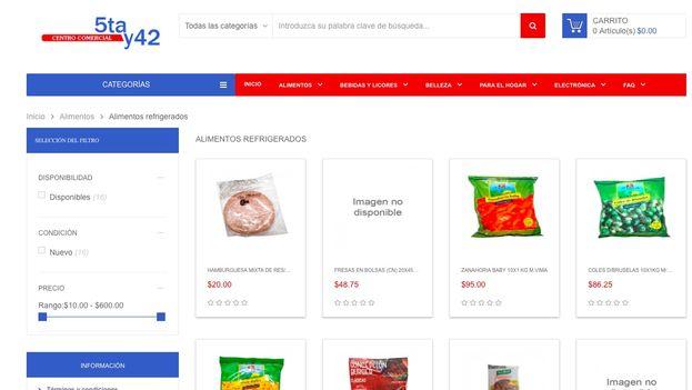 Los clientes constataron la lentitud de la carga de la página, que impedía la correcta visualización de los productos. (14ymedio)