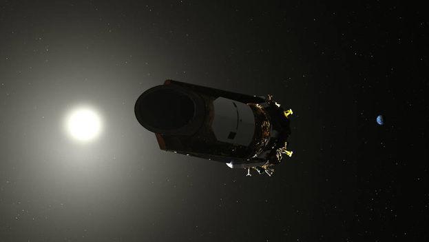El análisis más reciente de los descubrimientos de Kepler concluye que es probable que entre el 20 y el 50 por ciento de las estrellas visibles en el cielo nocturno tengan planetas pequeños, posiblemente rocosos. (EFE)