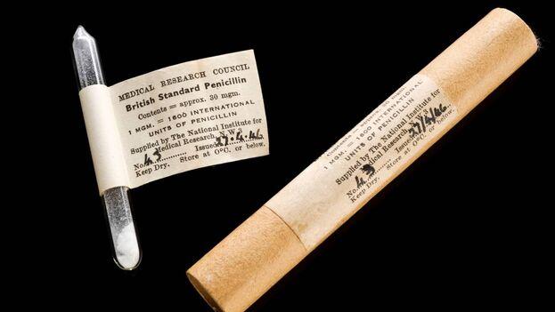 Uno de los descubrimientos más importantes del siglo XX, la penicilina, derivó de la pandemia de influenza de 1919. (Wellcome Collection)