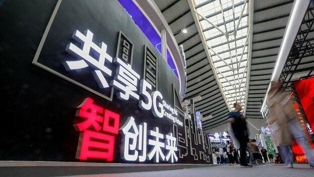 El 5G empezará a funcionar en más de 50 ciudades del país asiático a finales de año. (Cgtn)