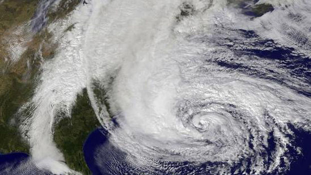 El huracán Sandy cruzó el Atlántico en 2012. (NASA)