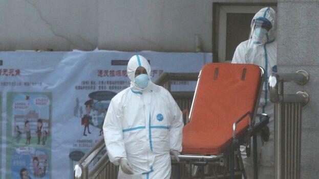 Este domingo se habían identificados 37.198 casos dela neumonía de Wuhan solo en la China continental. (EFE)