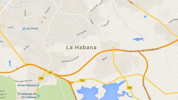 Una imagen de Google Maps.