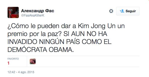 No le han faltado al norcoreano algunos defensores...
