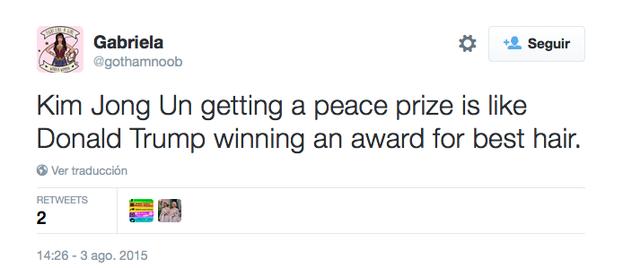 ... y otros optaban por comparar con el aspirante a candidato republicano