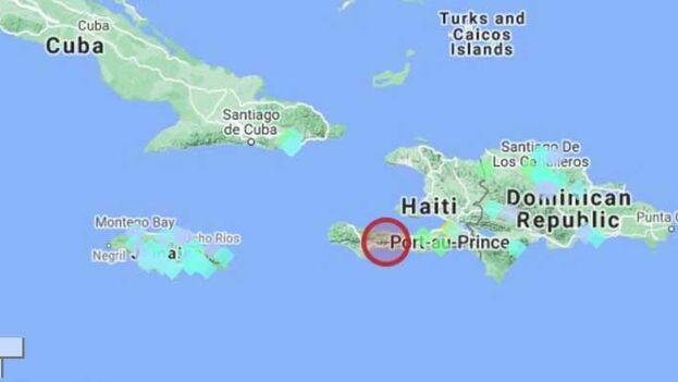 El sismo ocurrió a las 8:29 hora local y tuvo una profundidad de 10 kilómetros. (Volcano Discovery)