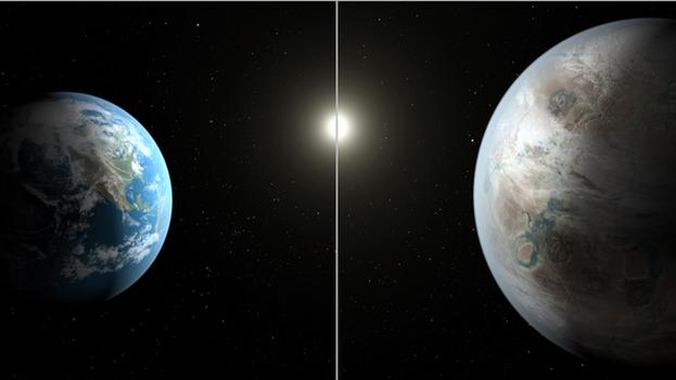 el primer planeta en zona habitable similar a la Tierra. (NASA)