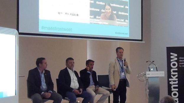 La presentación del e-Book 'Maestros del Tuit' en Madrid. (Dontknow)
